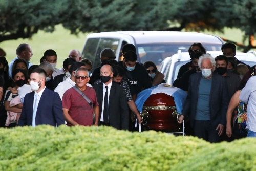 Inmormantarea lui Maradona