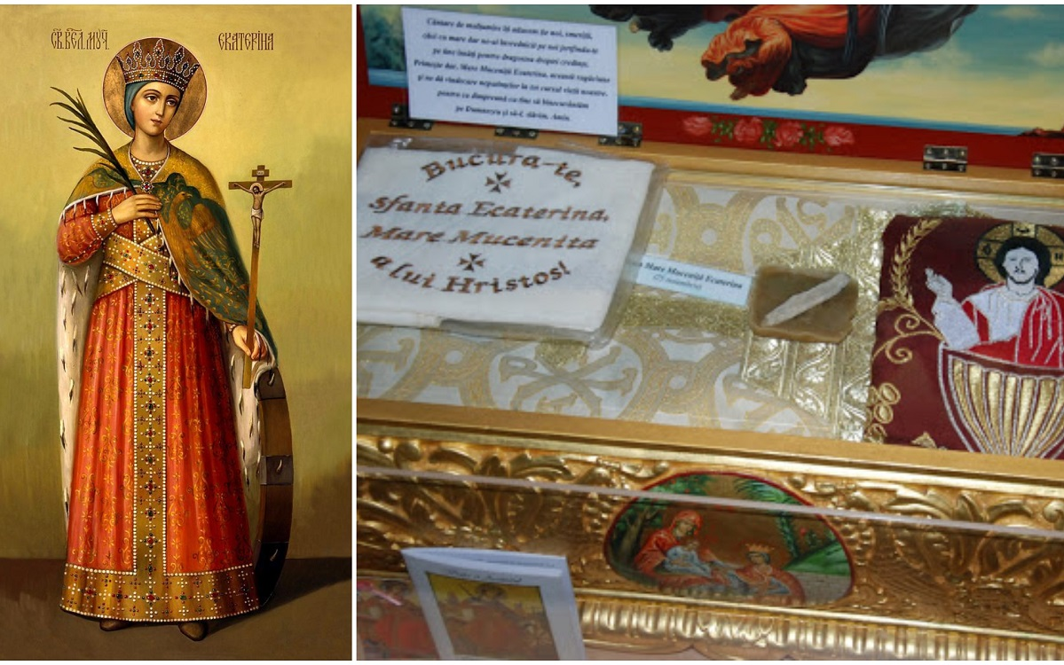 Calendar ortodox 25 noiembrie 2020 Sfânta Muceniţă Ecaterina luminează mintea copiilor, iar pe cei rătăciţi îi aduce pe calea cea dreaptă