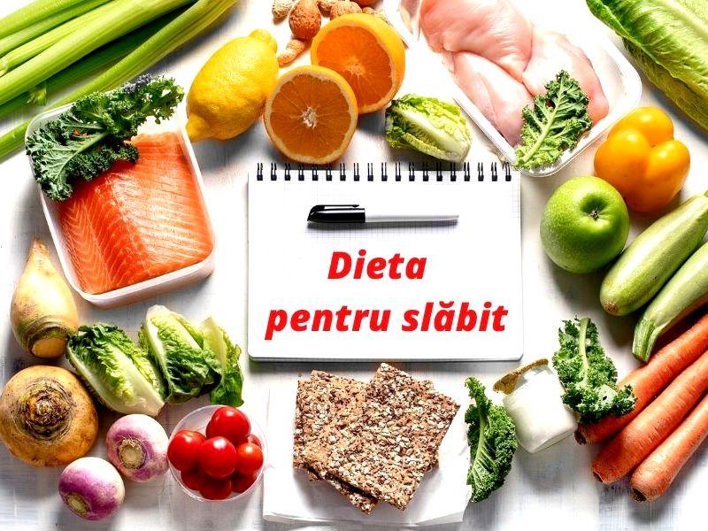 Dieta zilnica pentru slabit