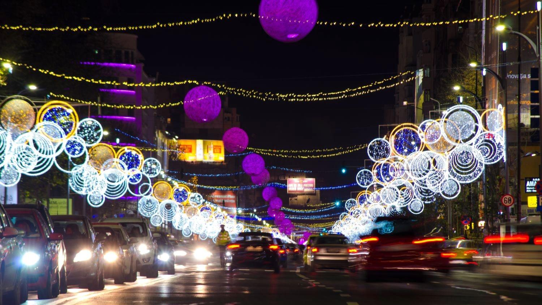 Luminiţele de Crăciun din Capitală, în anii precedenţi