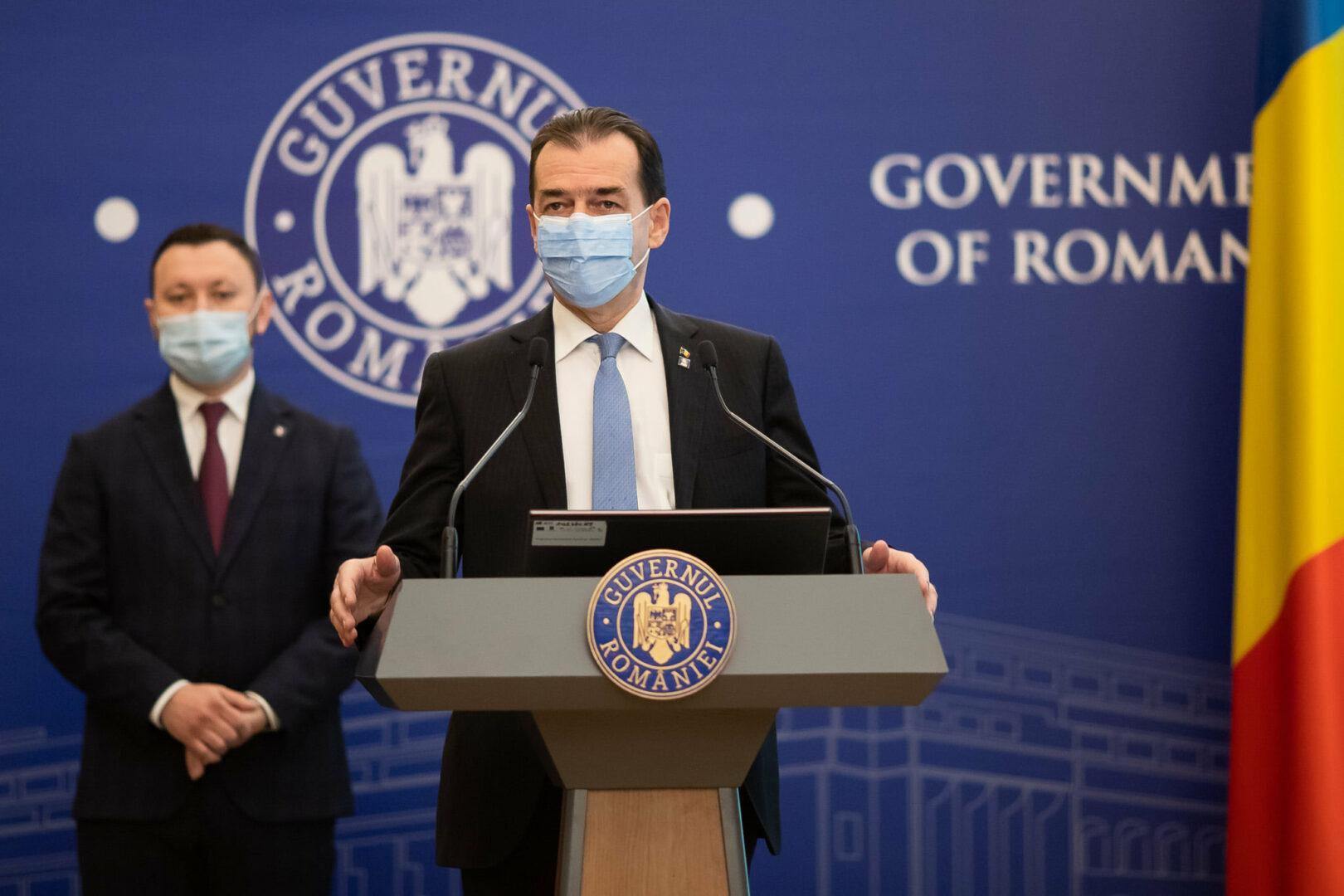 Ludovic Orban a demisionat din funcţia de prim-ministru