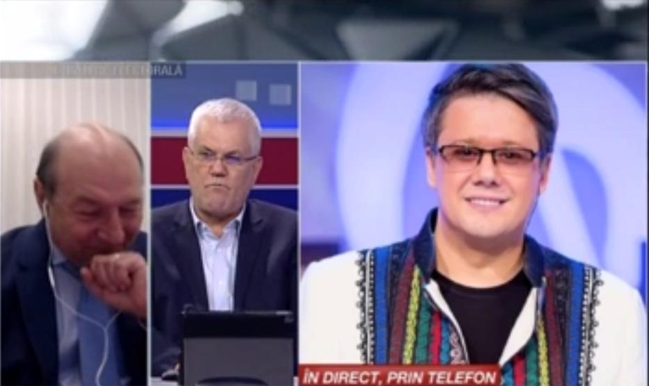 Traian Băsescu a plâns la România Tv