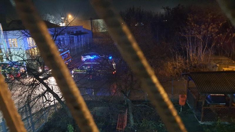 Incendiu la Spitalul Municipal din Roman. Mai mulţi pacienţi, evacuaţi de urgenţă