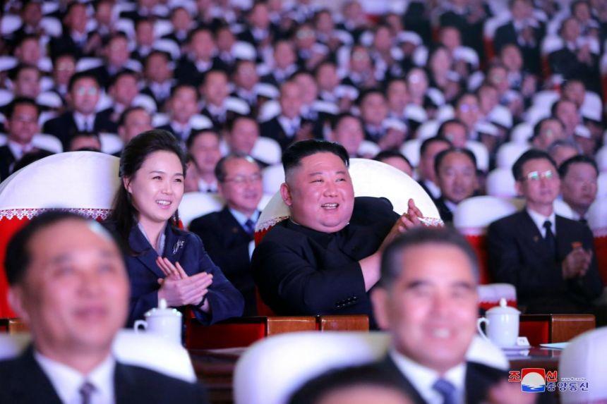 Cuplul prezidenţial din Coreea de Nord