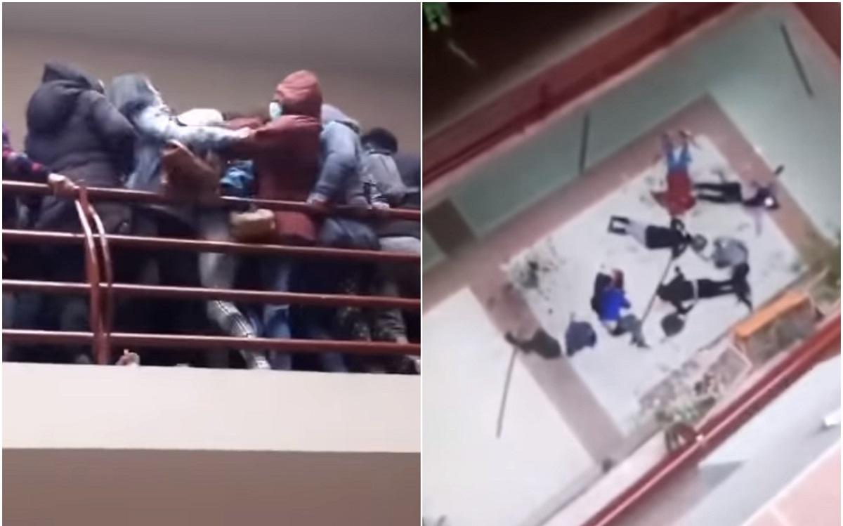 Studenţi morţi după ce au căzut de la etaj, la Universitatea din Bolivia. VIDEO şocant