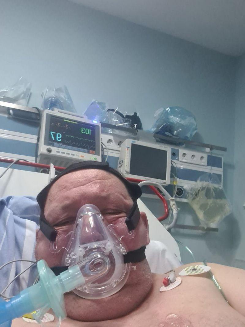 Mitică Ciorbă, intubat la ATI