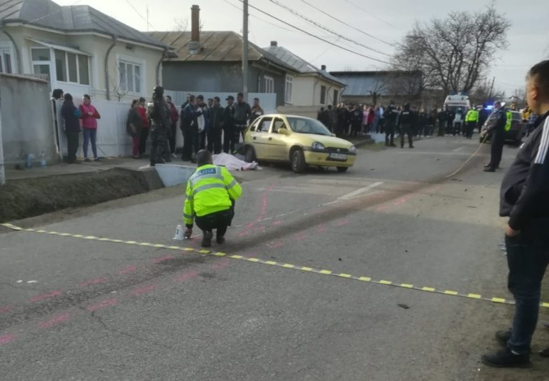 Accident mortal in Vrancea