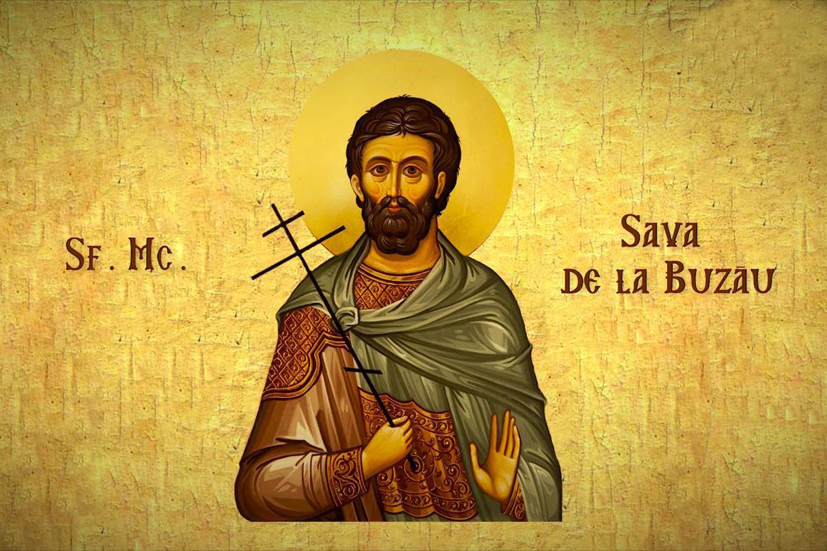 Calendar ortodox 12 aprilie 2021. Sfântul Mucenic Sava de ...