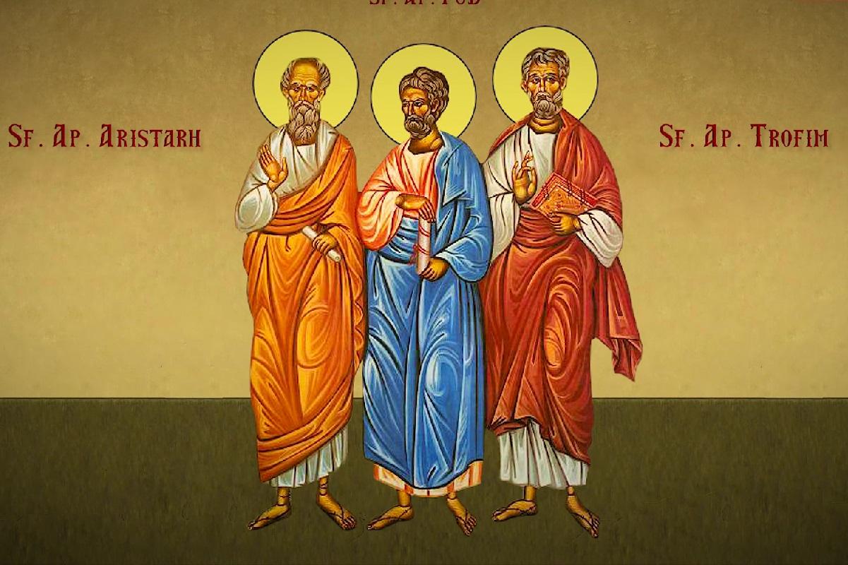 Calendar ortodox 15 aprilie 2021. Sfinții Aristarh, Pud și ...