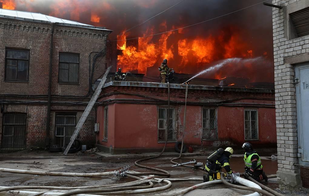 Imagine de la incendiu
