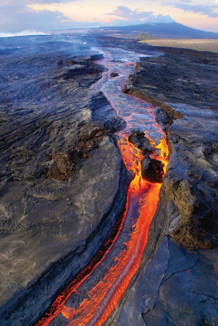 Cel mai mare vulcan de pe Pământ