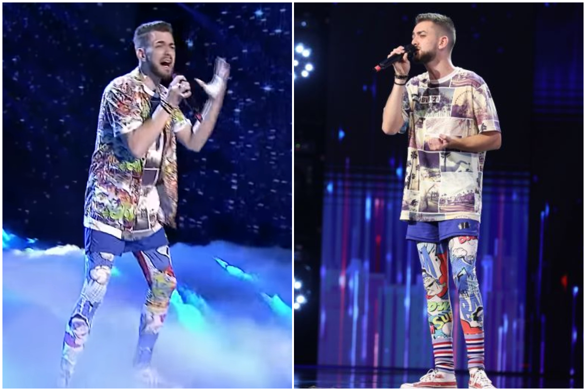 Românii au talent 2021. Cine este Dragoș Pădeanu, tânărul cu outfituri nonconformiste şi calităţi vocale cu totul aparte