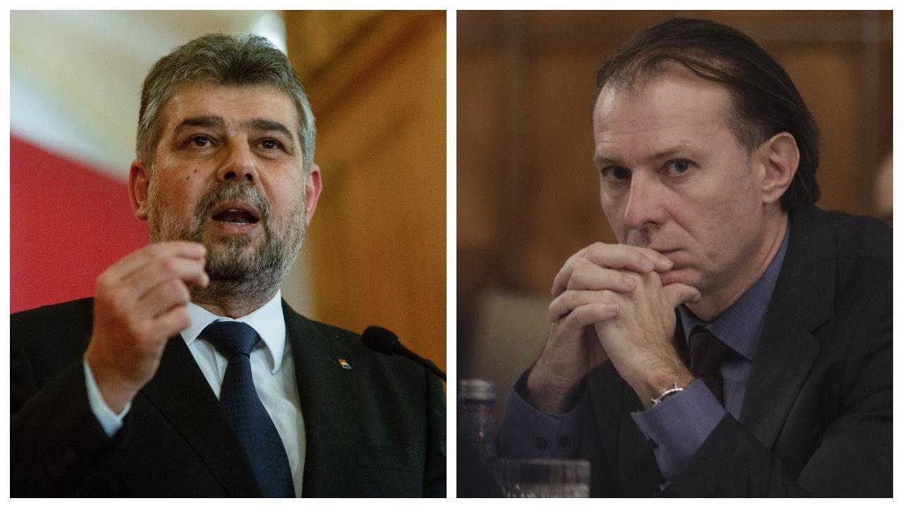 Florin Cîțu a anulat întâlnirea cu Marcel Ciolacu, dupa ce șeful PSD a anunțat public că urmau să se vadă astăzi