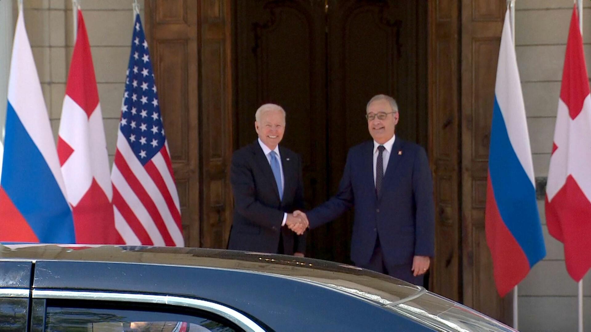 Joe Biden, la sosirea la vila care găzduieşte summit-ul