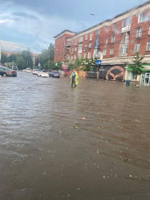Inundaţii la Galaţi