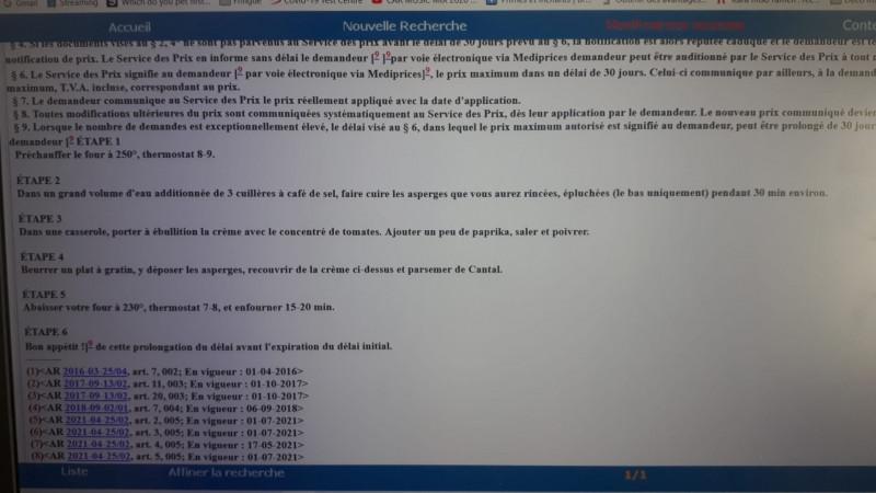 reţetă de sparanghel publicată în Monitorul Oficial