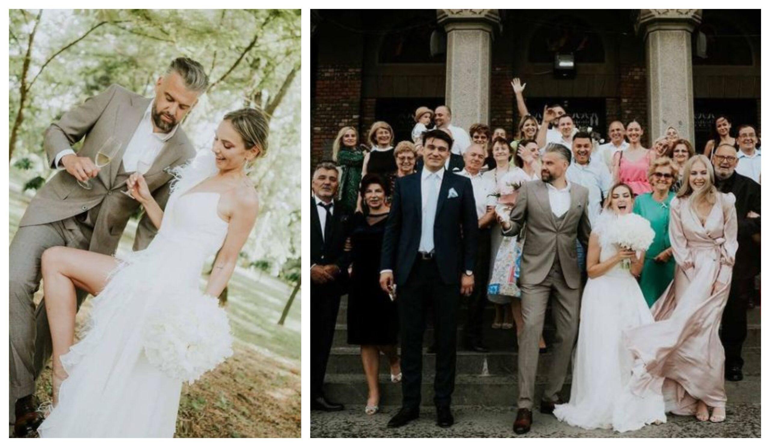 Ștefania și Speak au comis-o la nunta Roxanei Ionescu! Cum a putut să-și facă apariția cuplul