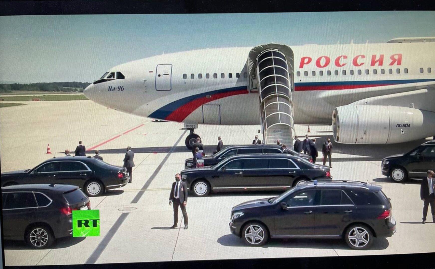Suita lui Vladimir Putin