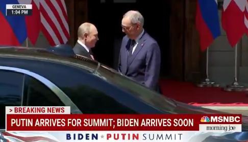 Vladimir Putin, la vila de la Geneva