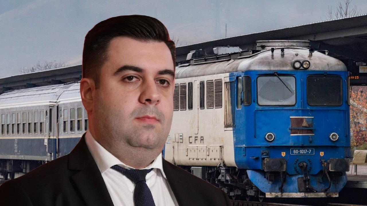 """EXCLUSIV. Răzvan Cuc îl face praf pe Drulă după scandalul CFR: """"Trebuie demis. El nu a gestionat nimic, eu m-aș fi dus imediat la fața locului. Șeful CFR e un incompetent"""""""