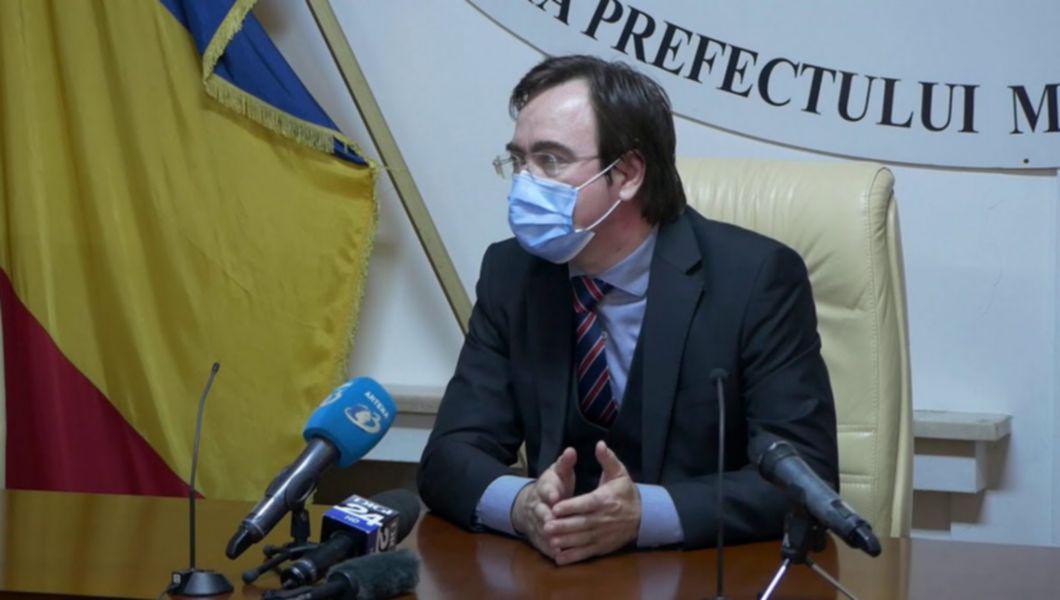 Şedinţă la Prefectura Capitalei pe creşterea cazurilor COVID. Alin Stoica, avertisment sumbru: Valul 4 va fi cel al nevaccinaților