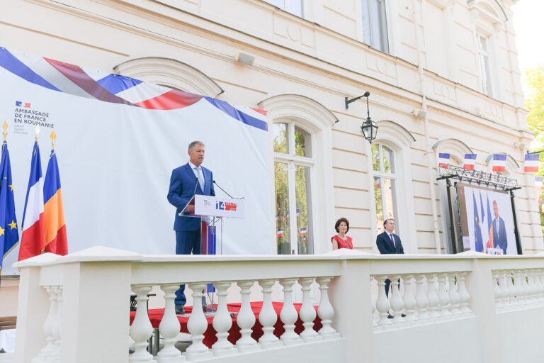 Iohannis, mesaj de Ziua Franţei