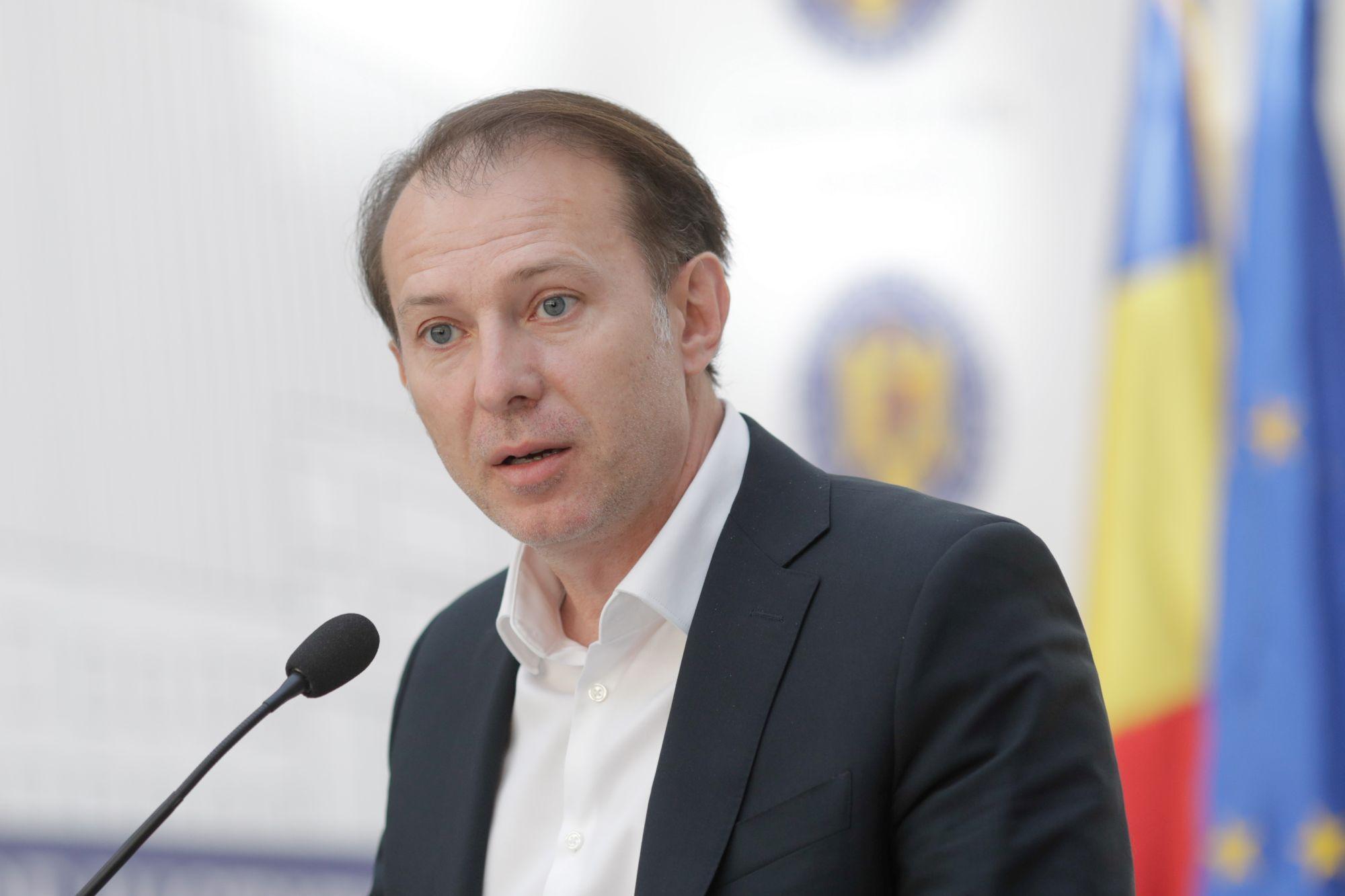"""Guvernul explică de ce a plecat Florin Cîţu din conferinţa de presă: """"A considerat că afirmaţiile sale nu mai sunt de interes pentru jurnalişti"""""""