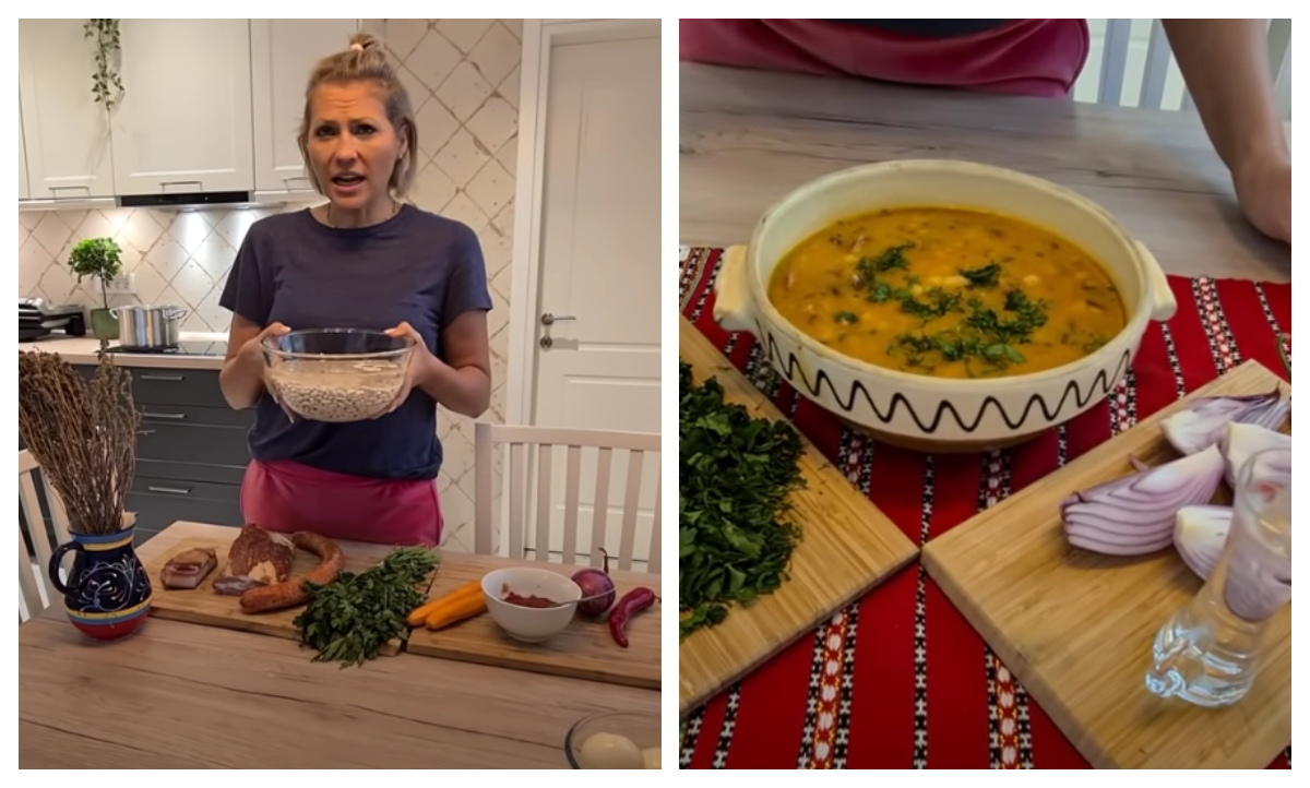 """Mirela Vaida a dezvăluit secretul celei mai bune ciorbe de fasole cu afumătură: """"Eu gătesc la oală, româneşte"""""""
