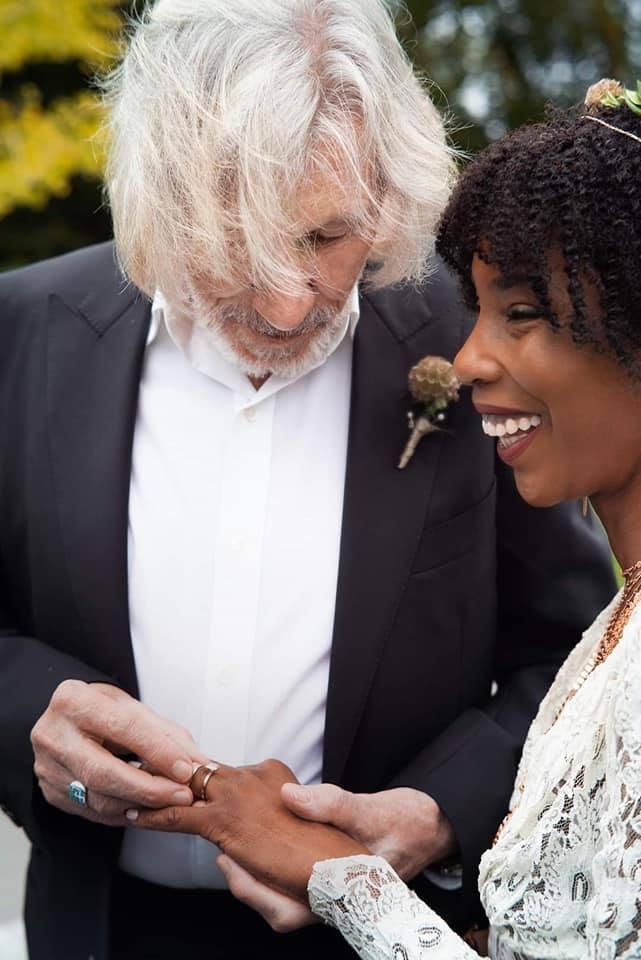 Roger Waters şi noua lui soţie